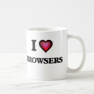 I Love Browsers Coffee Mug