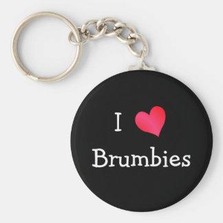I Love Brumbies Key Ring
