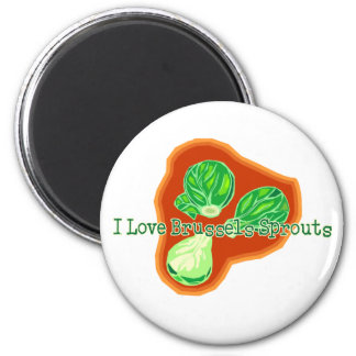 I Love Brussels Sprouts Magnet