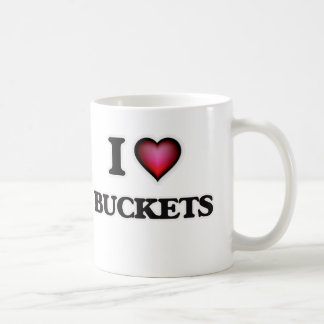 I Love Buckets Coffee Mug