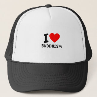 I Love Buddhism Trucker Hat