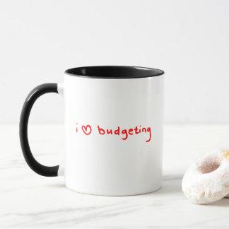I Love Budgeting Mug