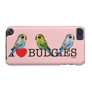 I Love Budgies iPod Touch (5th Generation) Cases