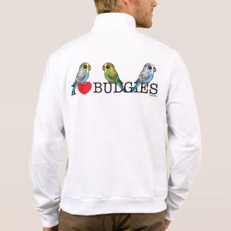 I Love Budgies Jacket
