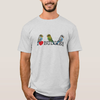 I Love Budgies T-Shirt