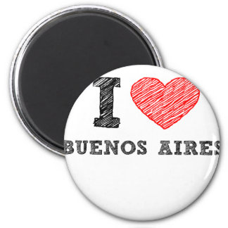 I Love Buenos Aires Magnet