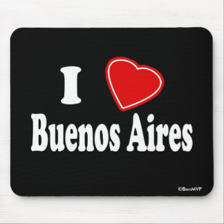 I Love Buenos Aires Mousepads
