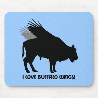 I love buffalo wings mousemats