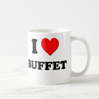 I Love Buffet Coffee Mug