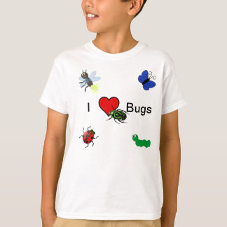 I Love Bugs T-shirt For Kids