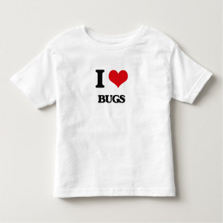 I Love Bugs Toddler T-Shirt
