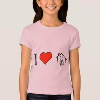 I Love Build On Your Own T-Shirt