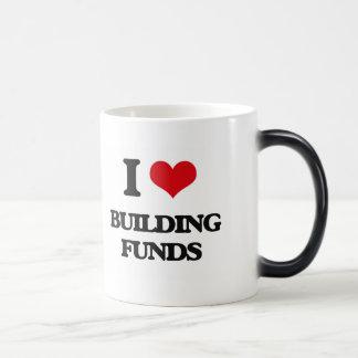 I Love Building Funds Coffee Mugs