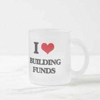 I Love Building Funds Mugs