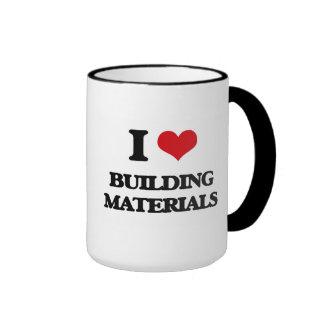 I Love Building Materials Mug