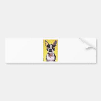 I love bulldog bumper sticker