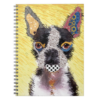 I love bulldog notebook