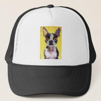 I love bulldog trucker hat