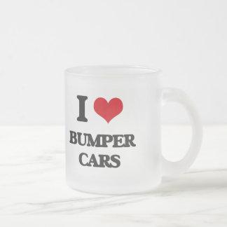 I Love Bumper Cars Coffee Mugs