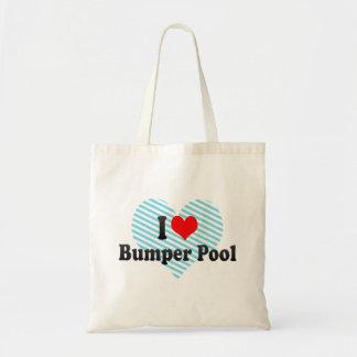 I love Bumper Pool Canvas Bags