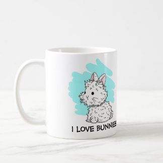 I love Bunnies Mug - Blue