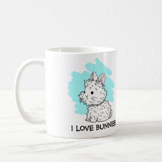 I love Bunnies Mug - Blue