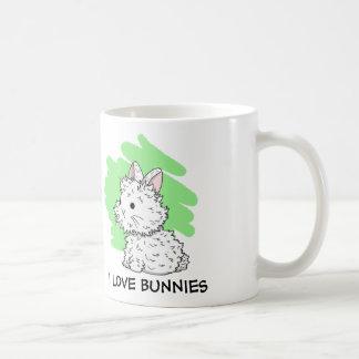 I love Bunnies Mug - Green