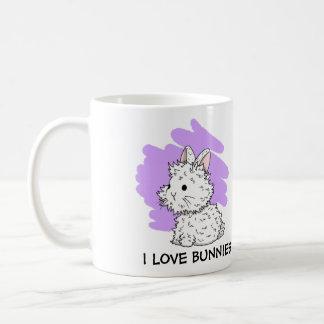 I love Bunnies Mug - Lilac