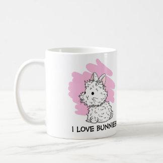 I love Bunnies Mug - Pink