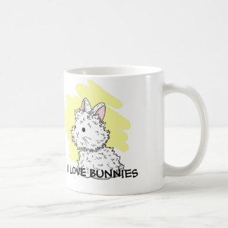 I love Bunnies Mug - Yellow
