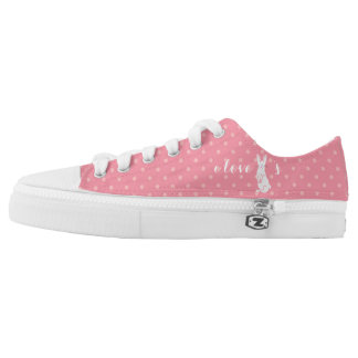 I Love Bunnies Zipz Women's Sneakers