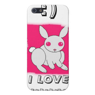 I LOVE BUNNY'S, :) iPhone 5 CASES