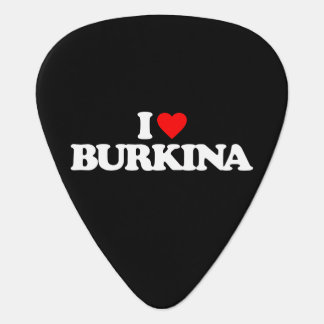 I LOVE BURKINA GUITAR PICK