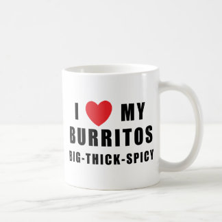 I Love Burritos Coffee Mug