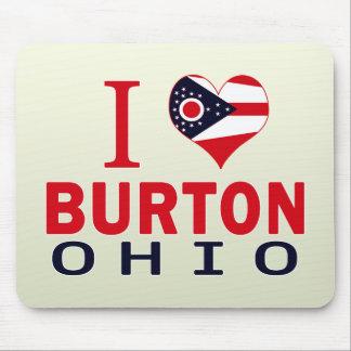 I love Burton, Ohio Mouse Pad