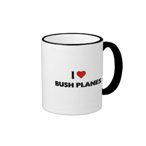 I love Bush Planes Coffee Mug