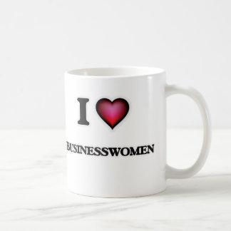 I Love Businesswomen Coffee Mug