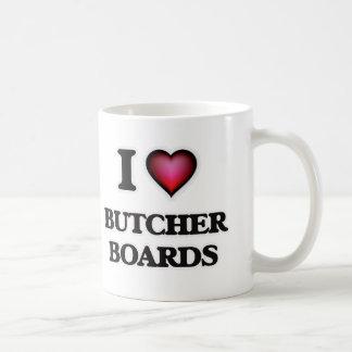 I Love Butcher Boards Coffee Mug