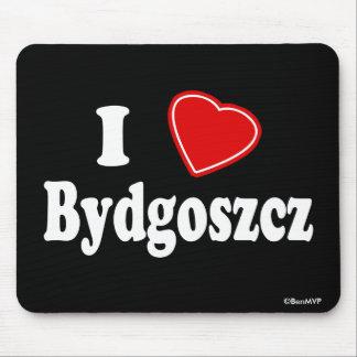 I Love Bydgoszcz Mouse Pad