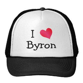 I Love Byron Cap