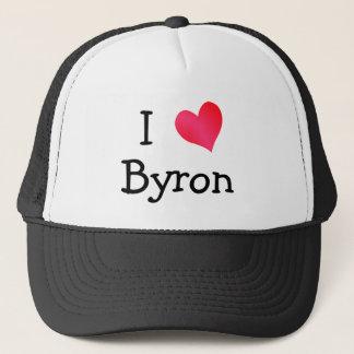 I Love Byron Trucker Hat