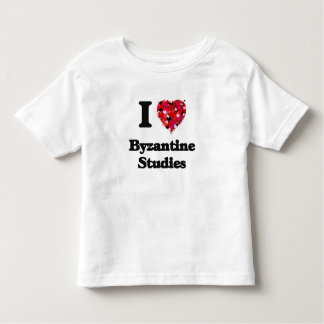I Love Byzantine Studies Toddler T-Shirt