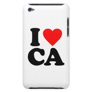 I LOVE CA BARELY THERE iPod COVER