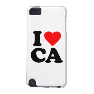 I LOVE CA iPod TOUCH (5TH GENERATION) COVERS
