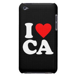 I LOVE CA iPod Case-Mate CASE