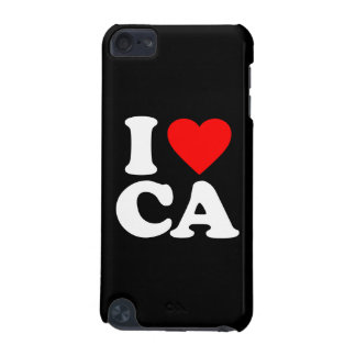 I LOVE CA iPod TOUCH (5TH GENERATION) CASES