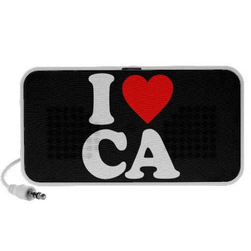 I LOVE CA iPhone SPEAKER