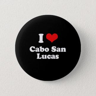 I Love Cabo San Lucas Tshirt White Tshirt 6 Cm Round Badge