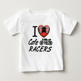 I Love Cafe Racers Baby T-Shirt