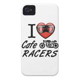 I Love Cafe Racers iPhone 4 Covers